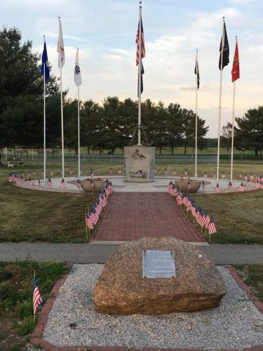 2veterans memorial